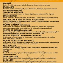 Mexican Specialities
