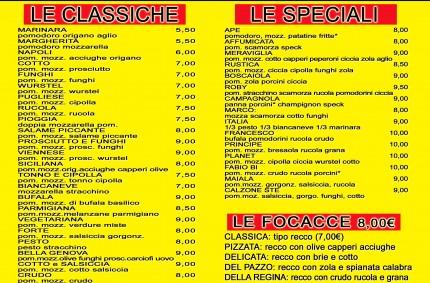 Pizze Messicane e Classiche